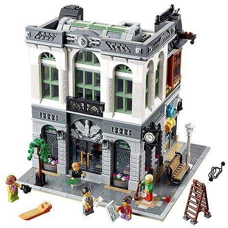 Amazoncom Lego Creator Expert Brick Bank 10251 Construction Set