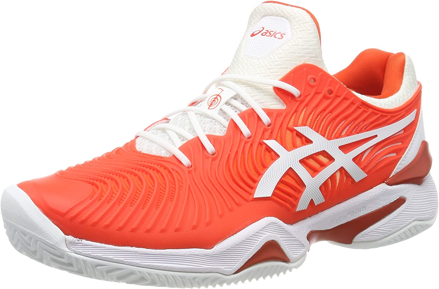 Asics Court FF Novak Clay, Zapatillas de Tenis para Hombre, Multicolor (Cherry Tomato/White 800), 44.5 EU: Amazon.es: Zapatos y complementos
