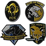 Metal Gear Solid Cosplay Airsoft Iron on Patch Set–Parche nadadores