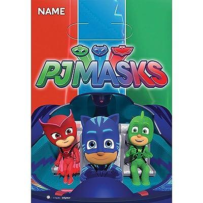 amscan PJ Masks Loot Bags (8 ct): Toys & Games