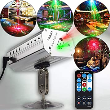 Amazon.com: Luces de fiesta discoteca Luces TONGK ...