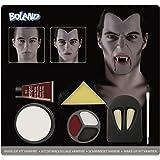 Make Up Set Vampire (make-up colors, 1 sponge, 1 brush, 1 pair of vampire teeth)