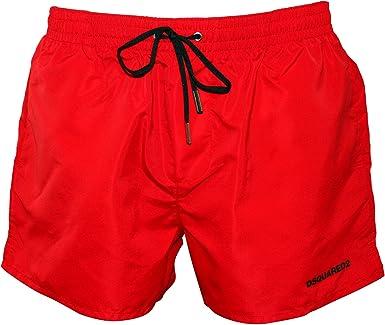 "Men's black dsquared2 swim shorts size medium waistline 30""-32"""