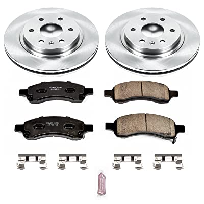 Autospecialty KOE4657 1-Click OE Replacement Brake Kit: Automotive