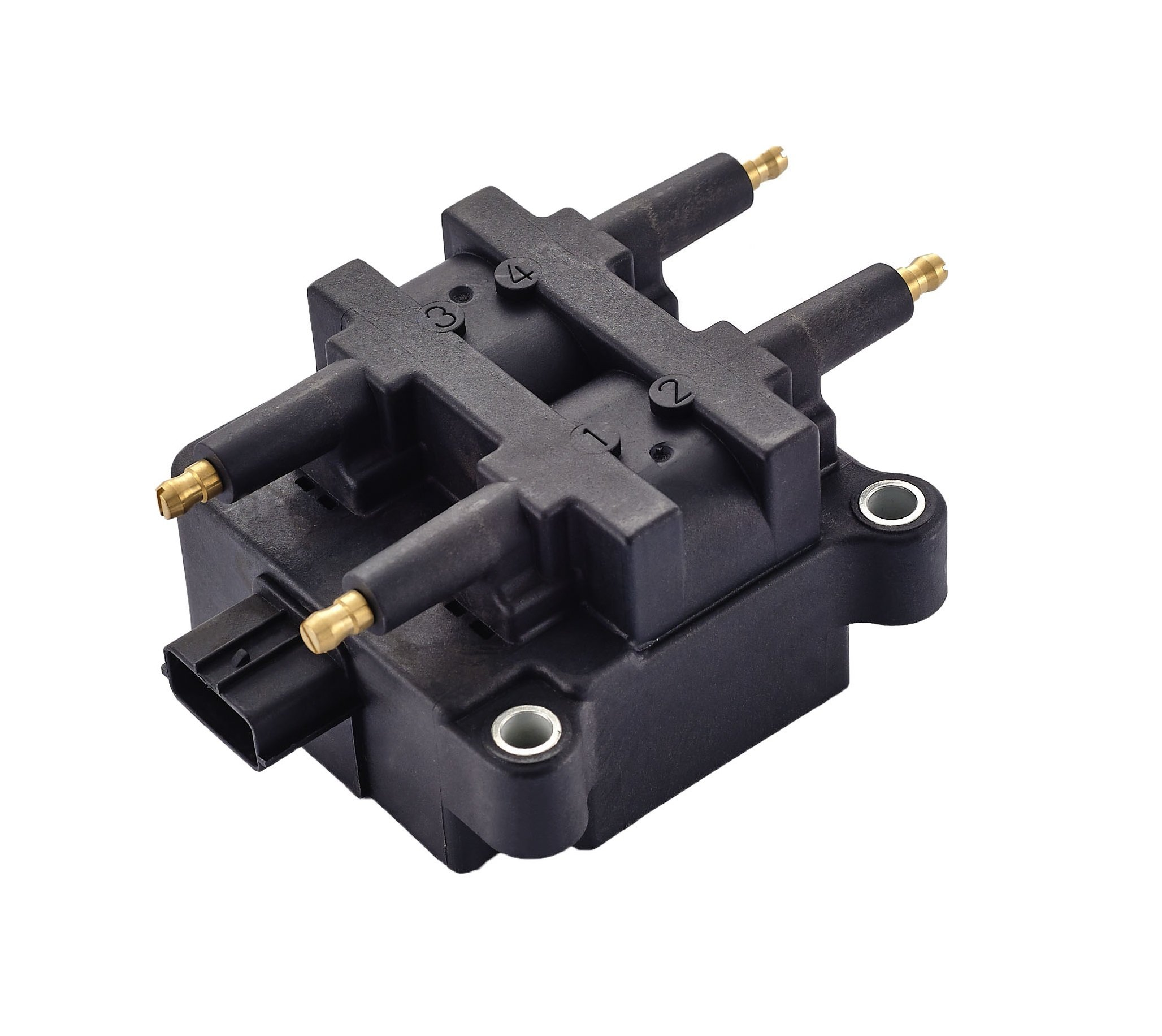Ignition Coil Pack 4 Pin for Subaru - Impreza Legacy Outback Forester Baja - 2.2L 2.5L Compatible with 22433-AA410 22433-AA570