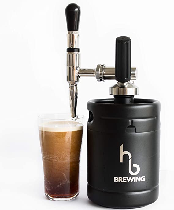 AT HOME Nitro Cold Brew Coffee Maker – Mini Keg Dispensing System