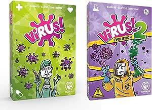 Outletdelocio.- Pack Juego Cartas Expansión Virus 2 Evolution (Tranjis Games. 62304): Amazon.es: Juguetes y juegos