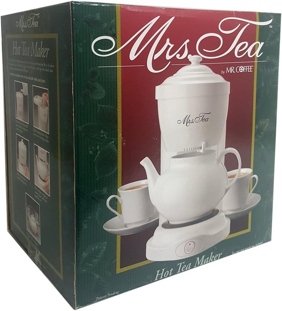 Mr. Coffee Mrs Tea Hot Tea Maker Electric HTM1