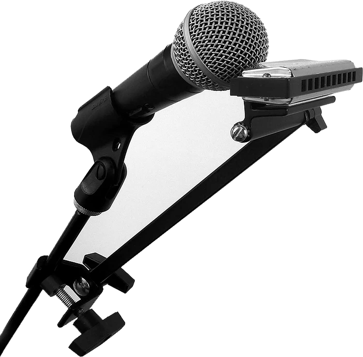 HarpArm Ultimate Magnetic Mic Stand Harmonica Holder