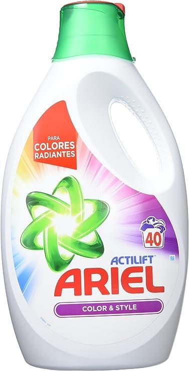 Ariel Colour & Style Detergente líquido, 1,75 l - 27 lavados ...