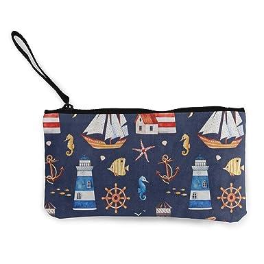 Amazon.com: Monedero de lona de colores para barco, faro ...