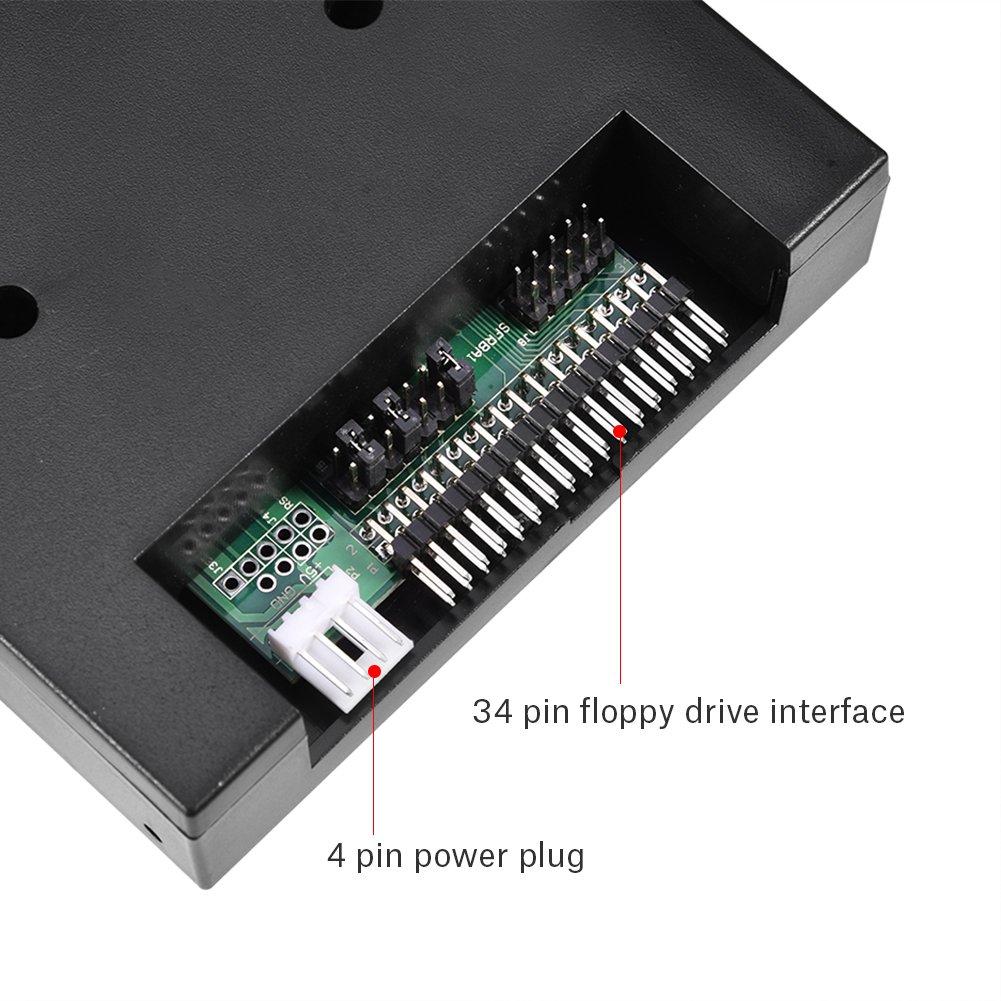 Bewinner USB Emulator SFR1M44-U100K-R 1.44MB 3.5 Inch USB SSD Floppy Drive Emulator for Roland E-66,E-86,E-96,G-600,G-800,E-480B,E600,XP-50,V1000 VA-7 Keyboard by Bewinner (Image #3)