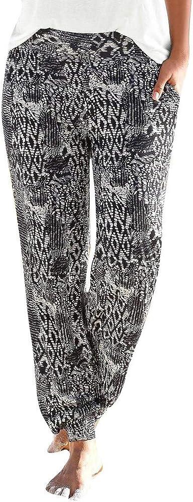 LuckycatDD Pantalones de chándal con el elástico de las bragas ...