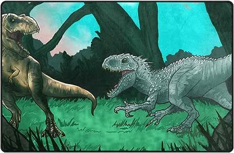 Alfombras de dinosaurio Alfombra colorida grande ...