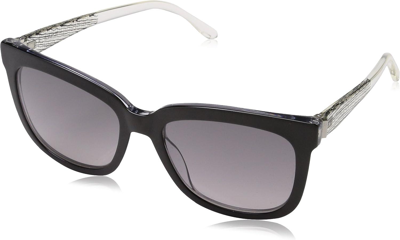 BOSS Hugo 0850/S EU GAD Gafas de Sol, Negro (Blkcry Crystal/Grey SF), 54 Unisex-Adulto