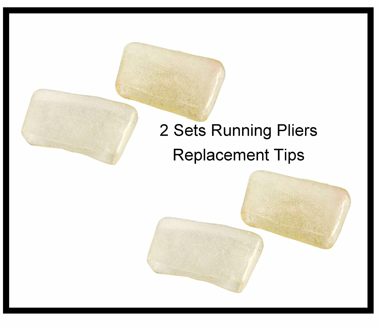 Replacement Tips for 1 Top Tool Running Pliers - two pair; 4 tips in total iDichroic 4336904952