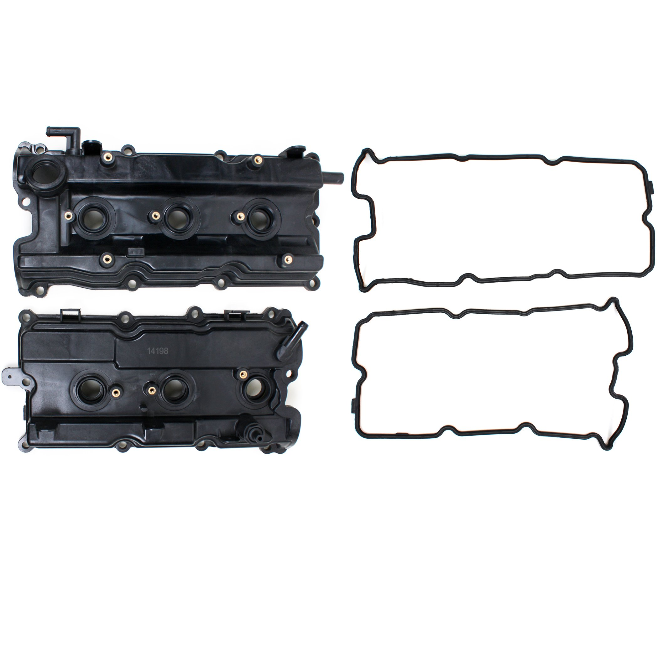 Brand New FVC130K Valve Cover Gaskets, Valve Cover, and Spark Plug Tube Seals (Both Left and Right Side) by CNS EngineParts
