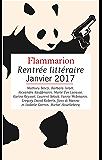 Extraits gratuits - Rentrée littéraire Flammarion janvier 2017