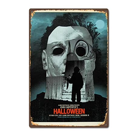 Hunnry John Carpenters Halloween Póster De Pared Metal ...