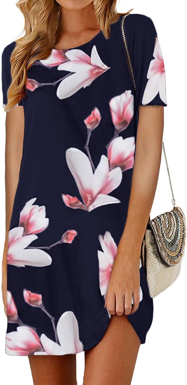 SUNNYME Women's Floral Mini...