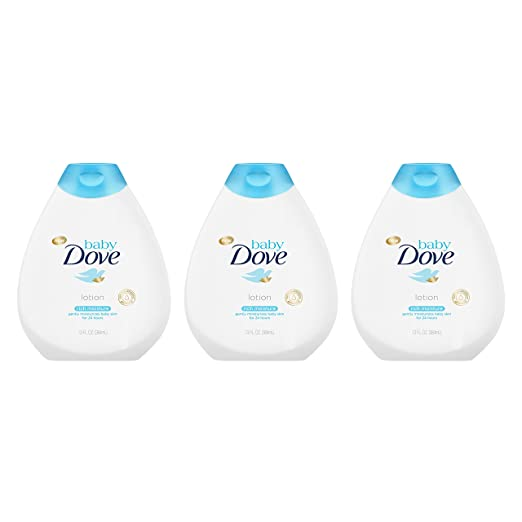 Baby Dove Lotion, Rich Moisture,13 oz, 3 Pack