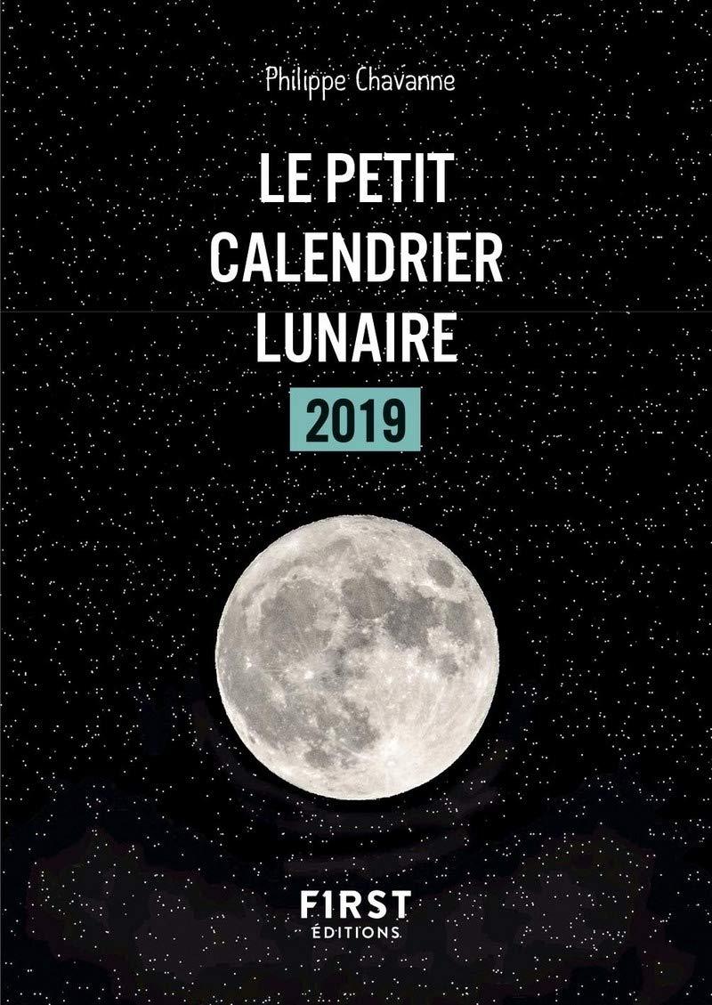 Amazon Fr Petit Livre Calendrier Lunaire 2019 Philippe