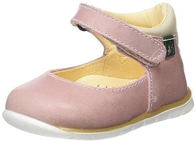 El Naturalista Kids Baby Mädchen E208 Durchgängies Plateau Sandalen, Pink (Rose), 18 EU