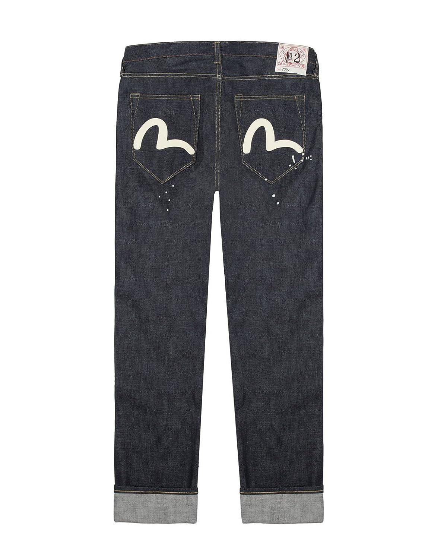 EVISU Raw Denim Selvedge Jeans 2009 Regular Tapered Made in Japan