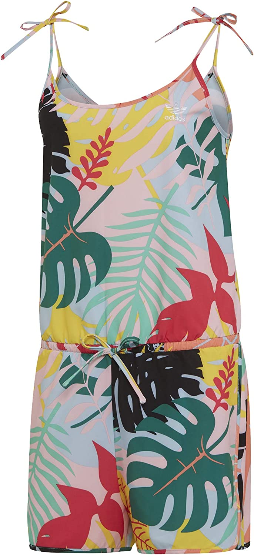 adidas Originals Adi Jumpsuit UK 12 Reg Tropical Print
