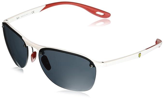 Ray-Ban 0RB4302M Gafas de sol, Transparente, 40 para Hombre ...