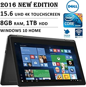 2016 DELL 7000 Series Inspiron 2-in-1 15.6