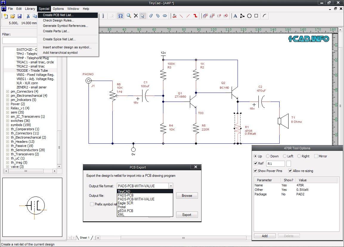 Amazon com: Electrical CAD Drawing Circuit Diagrams Maker