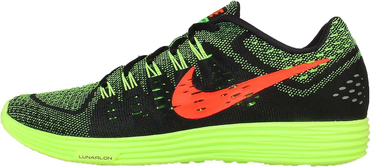 Nike Lunartempo, Zapatillas de Running para Hombre, Negro/Naranja/Verde (Black/Hyper Orange-Grn Strike), 40 EU: Amazon.es: Zapatos y complementos