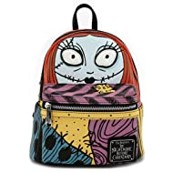 Loungefly x The Nightmare Before Christmas Sally Cosplay Faux Leather Backpack