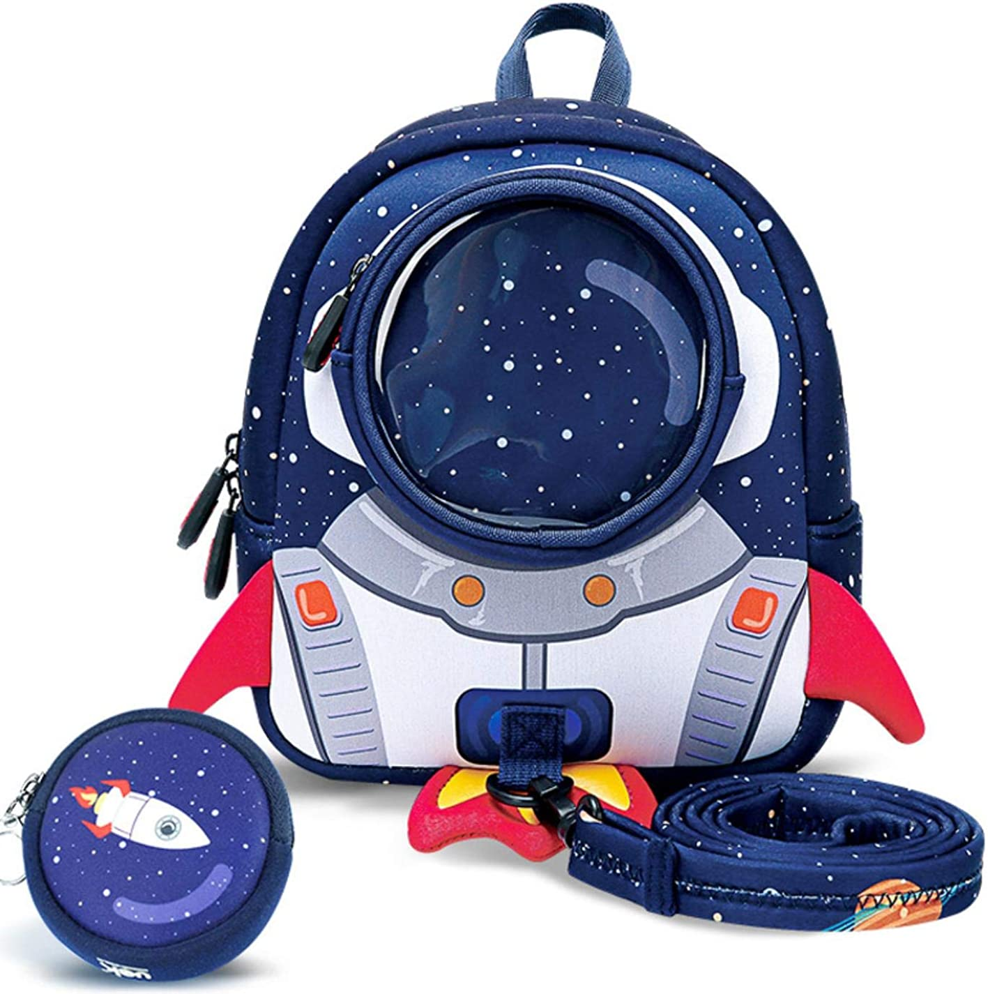 2019 new 3D cute anti-lost childrens backpack