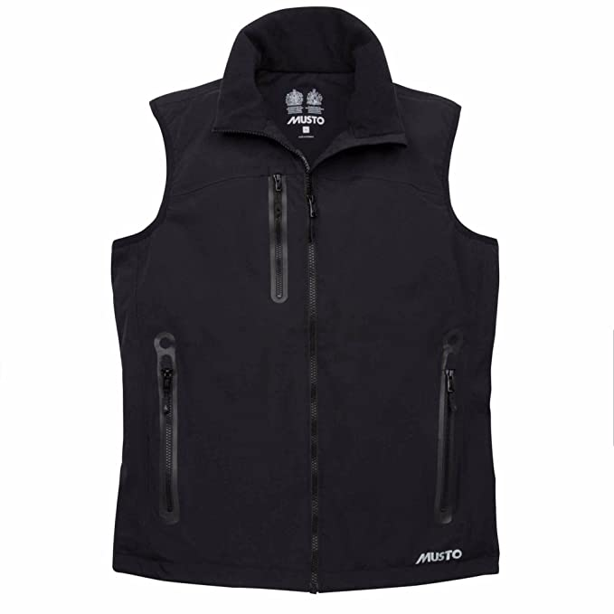 Musto Mens Corsica II Waterproof GiletVest at Amazon Men's
