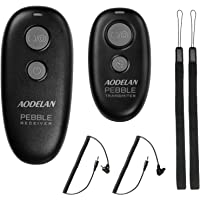AODELAN Camera Wireless Shutter Release for Canon 90D, EOS M6 Mark II, R, T7, T7i, 80D, 77D, 70D, 800D, 200D, 1500D, 7D…