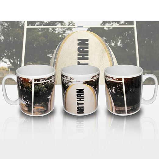 Eminence - Taza, diseño de balón de Rugby: Amazon.es: Hogar
