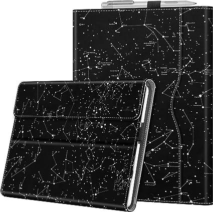 Fintie Hülle Für Surface Go 2 2020 Surface Go 2018 10 Zoll Tablet Multi Sichtwinkel Hochwertige Kunstleder Schutzhülle Cover Case Mit Dokumentschlitze Type Cover Kompatibel Z Sternbild Elektronik