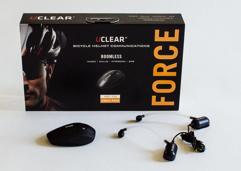 Uclear Force Helmet Communication Bluetooth Headset
