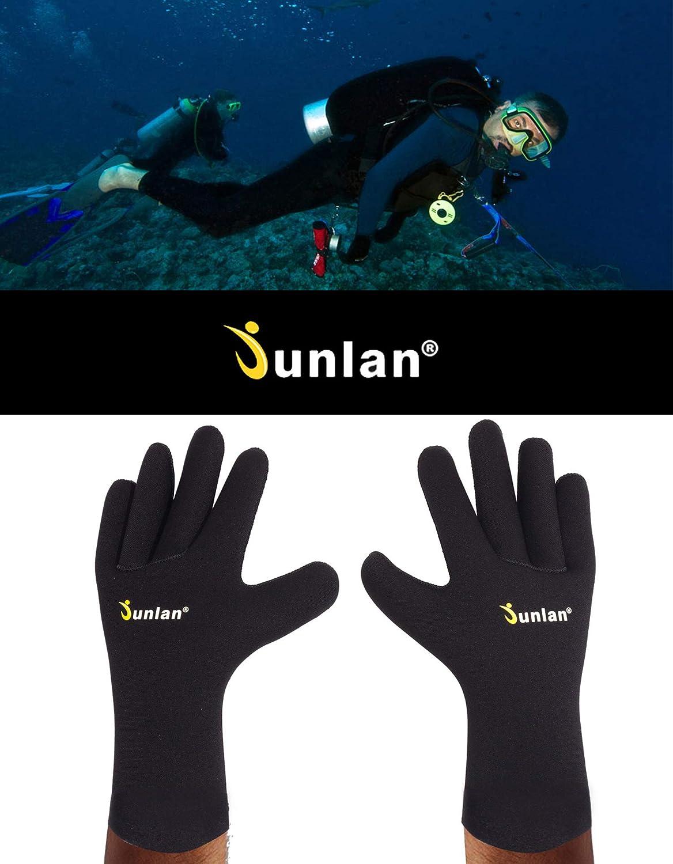 Kayaking Junlan Neoprene Diving Gloves Scuba Diving Rafting Sailing Wetsuits Glove for Snorkeling Water Jet Skiing