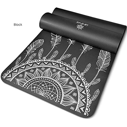 Amazon.com : Brave Rosemary 18580cm Lengthen Widen Yoga Mat ...