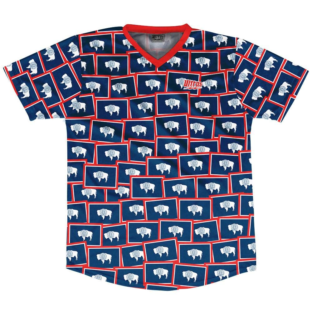Ultras Wyoming State Party Flags Soccer Jersey