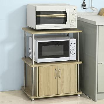 Sobuy frg260 n meuble rangement cuisine étagère de cuisine micro ondes