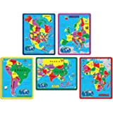 A Broader View The Continent Puzzle Combo Pack (All 5)