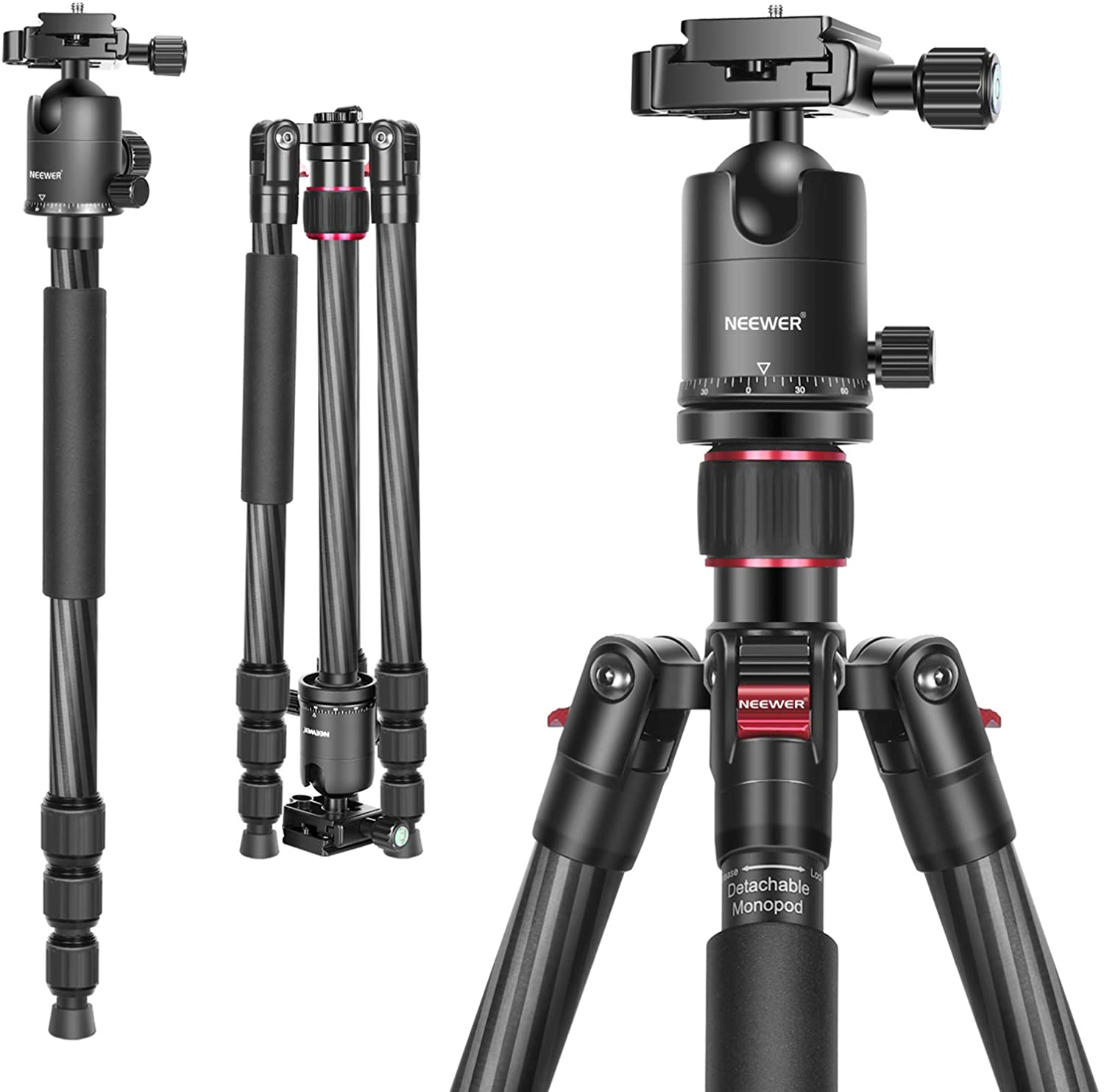 Neewer Carbon Fiber Camera Tripod