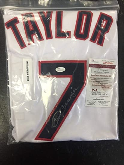 new arrival 03132 7057a Tom Berenger Jake Taylor Autographed Signed Jersey Cleveland ...