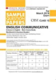 Oswaal CBSE Sample Question Papers Class 10 English Comm. (Mar. 2018 Exam)