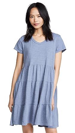 9da10bbd9 Wilt Women's Tiered Trapeze Dress, Indie, Blue, X-Small