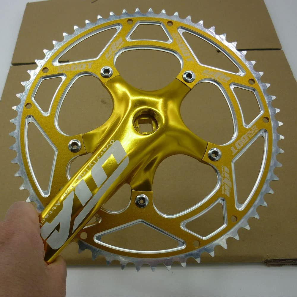 Uta 60T 60 Gear plato grande diámetro cadena para bicicleta ...